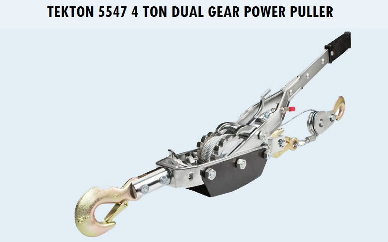 TEKTON 5547 4 Ton Dual Gear Power Puller Review