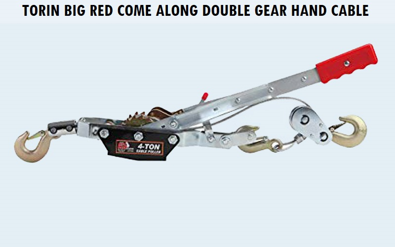 Torin Big Red Come Along Double Gear Hand Cable Puller Review