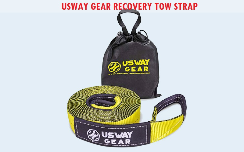 USWAY GEAR Recovery Tow Strap Review