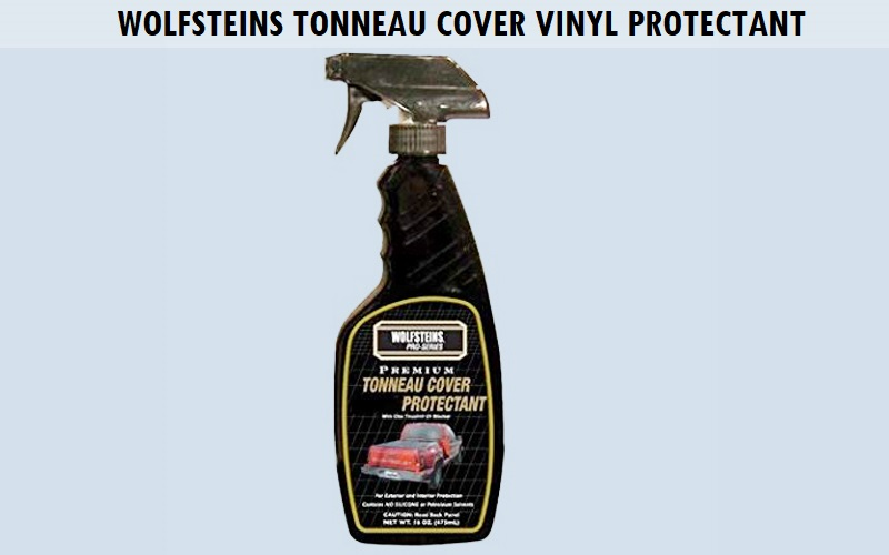 Wolfsteins Tonneau Cover Vinyl Protectant Review