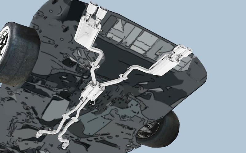 proper functioning catalytic converter
