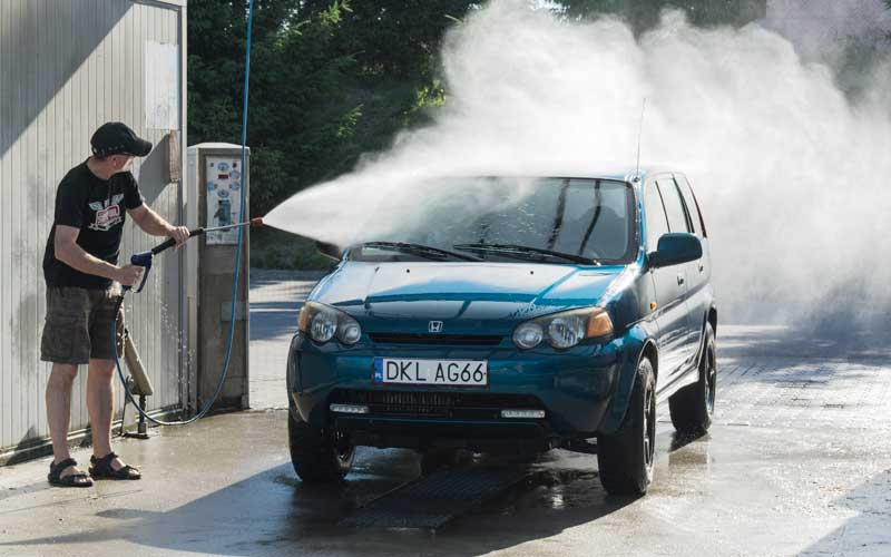Brushless Car wash