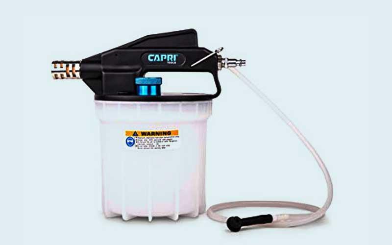 Capri Tools Vacuum Brake Bleeder Review