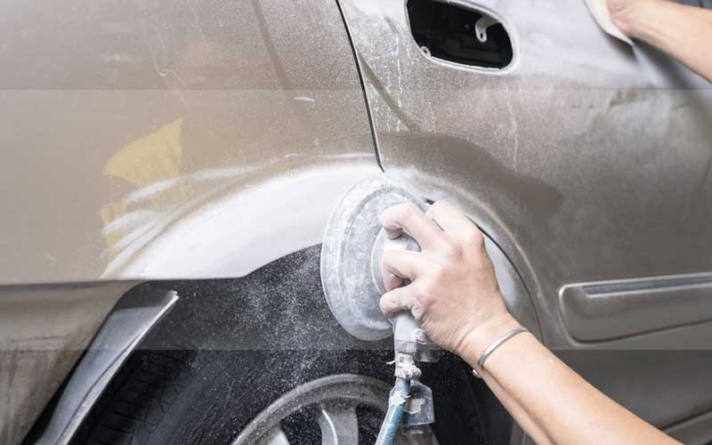 Car scratches easy to repair
