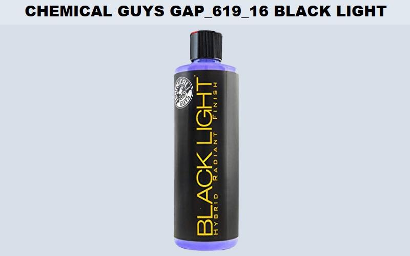 Chemical Guys Gap_619_16 Black Light Hybrid Review
