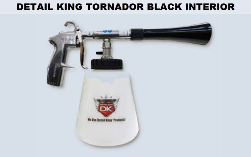 Detail King Tornador Black Interior Cleaning Tool Review