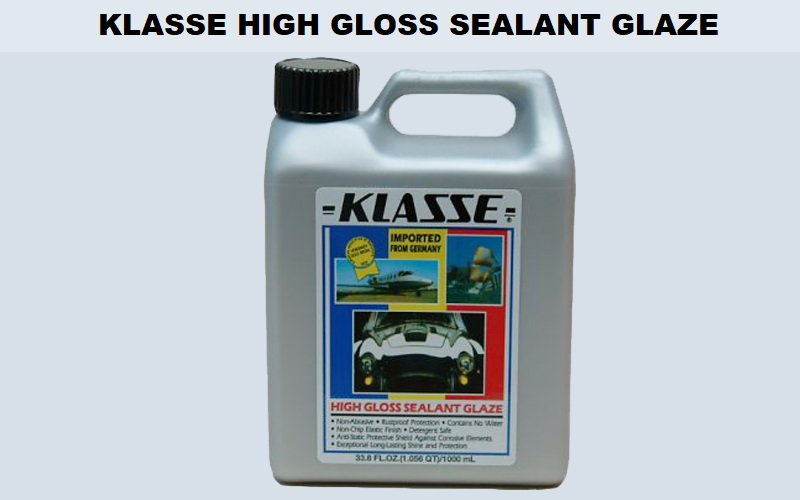 Klasse High Gloss Sealant Glaze Review