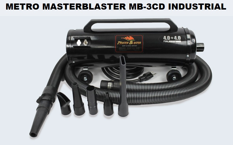 Metro MasterBlaster MB-3CD Industrial Dryer Review