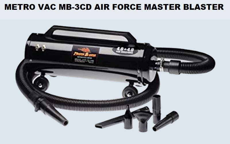 Metro Vac MB-3CD Air Force Master Blaster Review