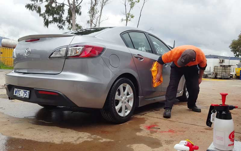 Rinseless Car wash