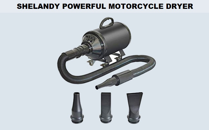 SHELANDY Powerful Motorcycle Dryer Review