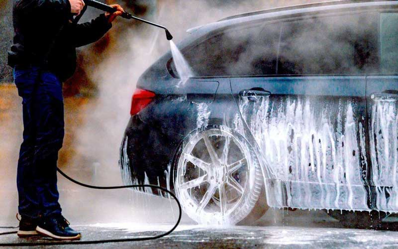 Washing your vehicle