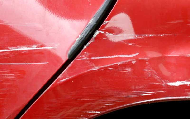 car scratch deep enough