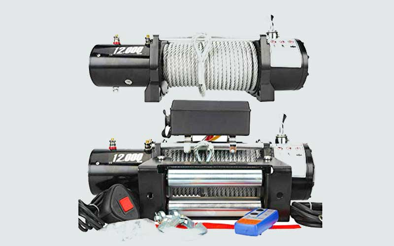 DC FLAT Electric Winch