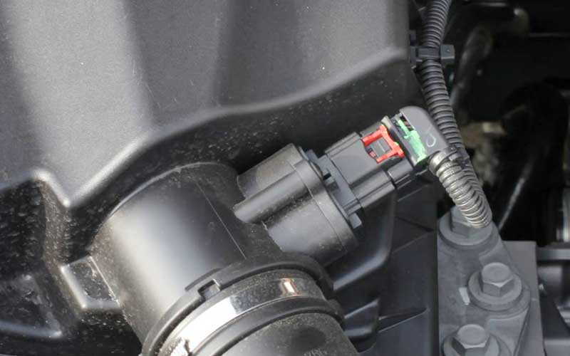 mass flow air sensor