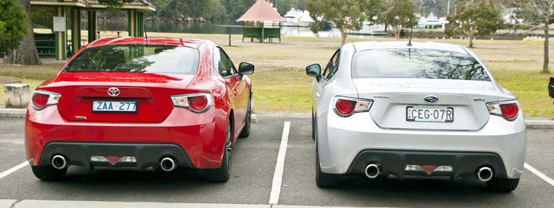 Toyota GT86 VS Subaru BRZ – Differences & Info about the two cars