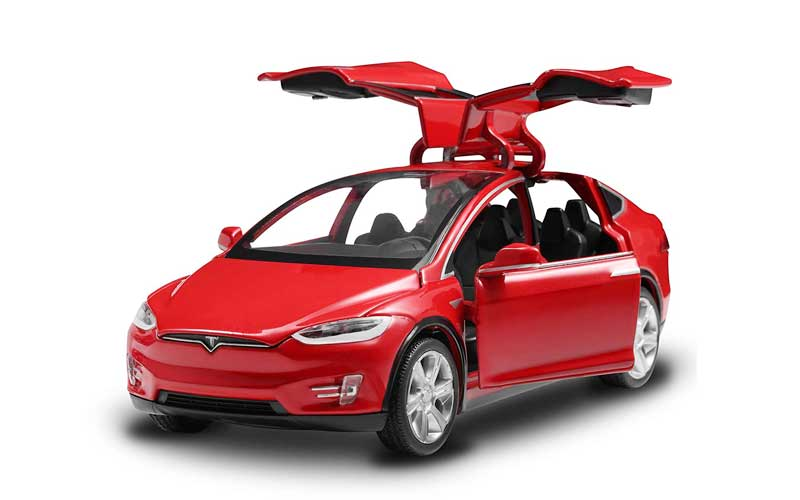 battery-powered cars and tesla
