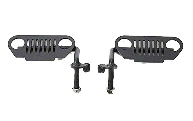 WYYINLI Black Pack of 2 Grill Front Pegs Review