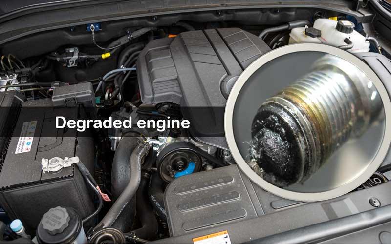 Degraded engine