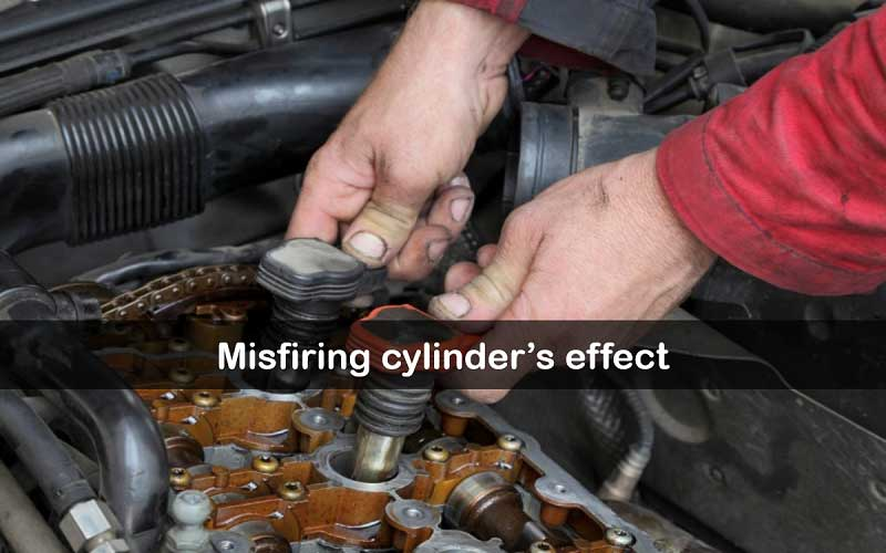 Effects of a misfiring cylinder