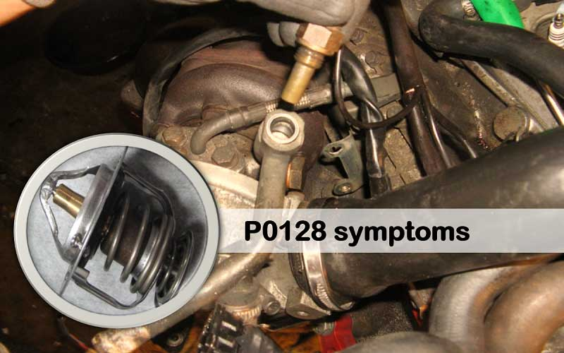 Symptoms of P128 Code