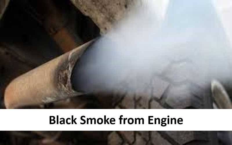 Black Smoke from the Engine