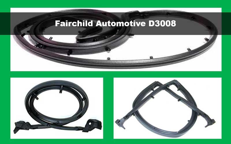 Fairchild Automotive D3008 Tailgate Seal review