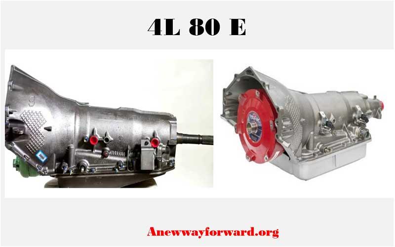 4L 80E transmission