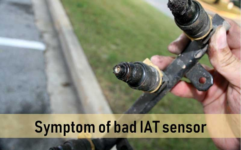 Symptoms of bad IAT sensor
