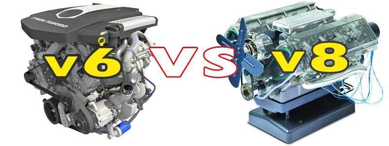 V6 VS V8 Car Engine – What's the Differences?