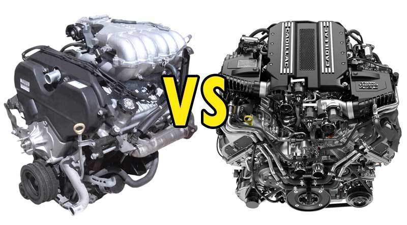 V6 vs. V8 Engine