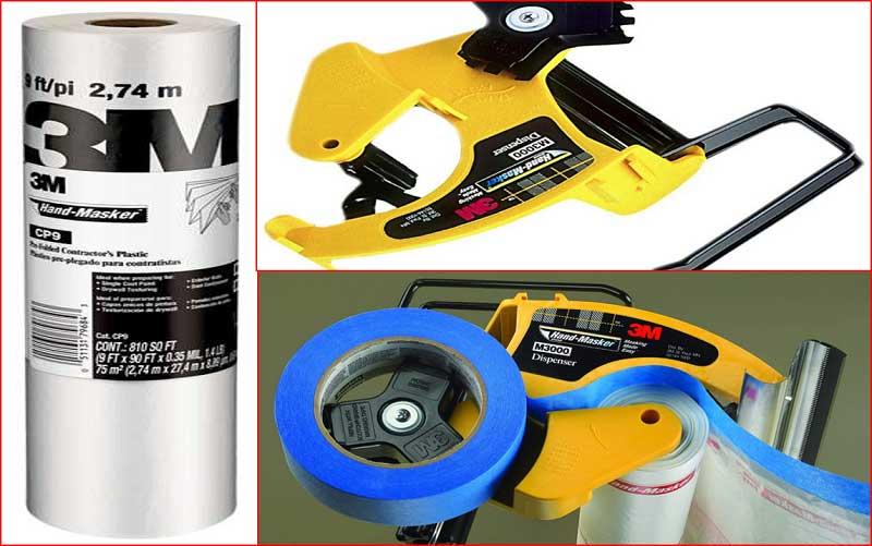 3M PAK M3000 Hand-Masker Pre-Assembled Masking Film Kit review