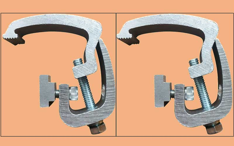 API Clamps Silver review