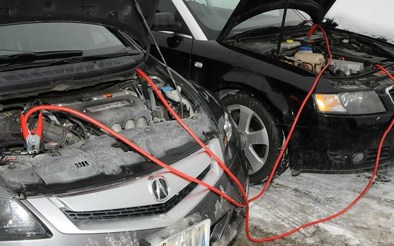 Boost or jump start your car