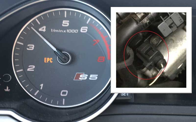 Causes of Volkswagen EPC light turning on and how to identify them