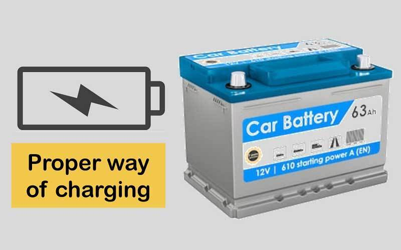 Charging of the battery