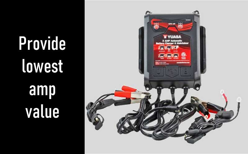 Charging the battery of your car with a two amps charger