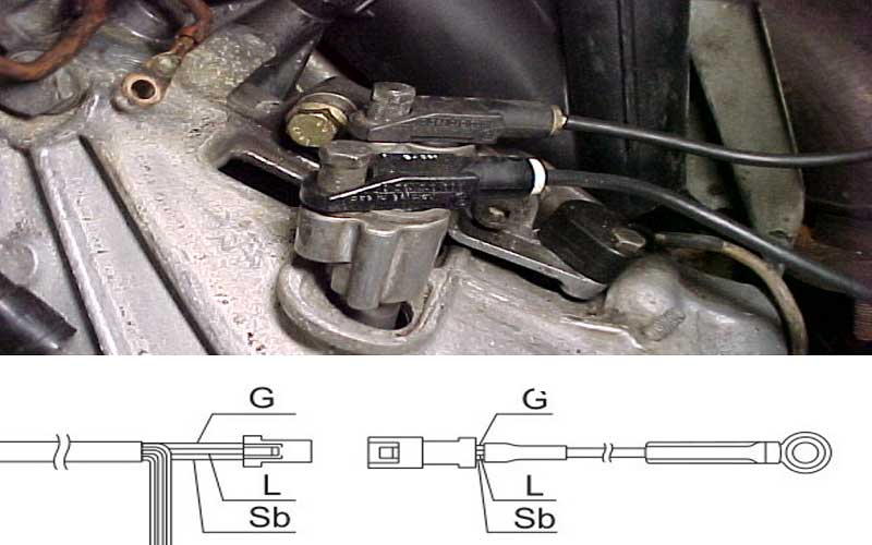 Identify the speed sensor