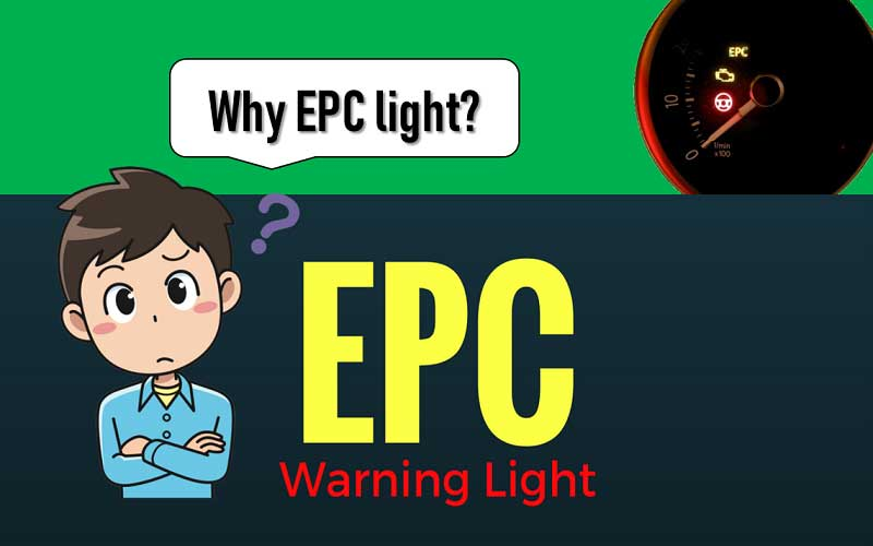 Purpose of Electronic Power Control (EPC) light