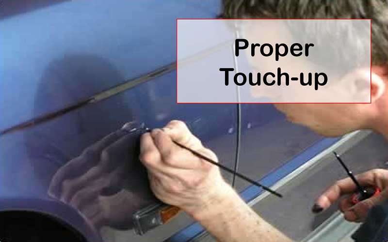 Touch-ups for Polishing