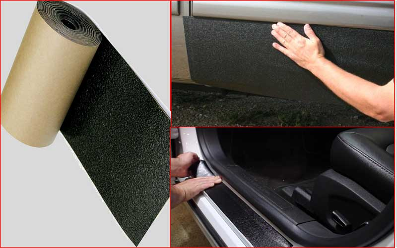 XPEL Black Universal Door Sill Guard Paint Protection Film Kit review