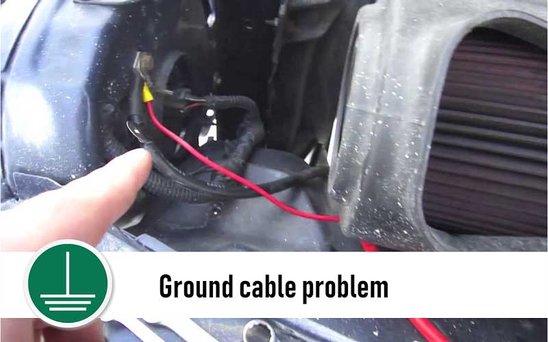 Ground cable problem