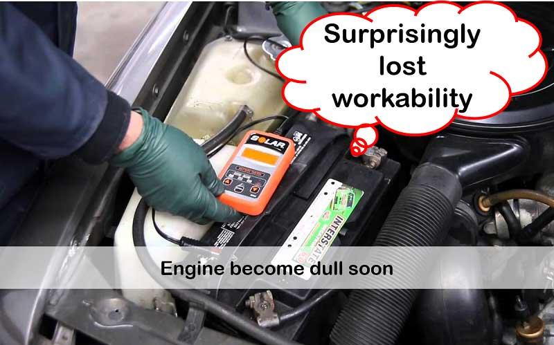 Engine get weak