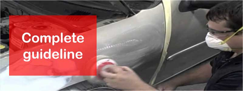 How to Sand a Car Before Painting – Details Process