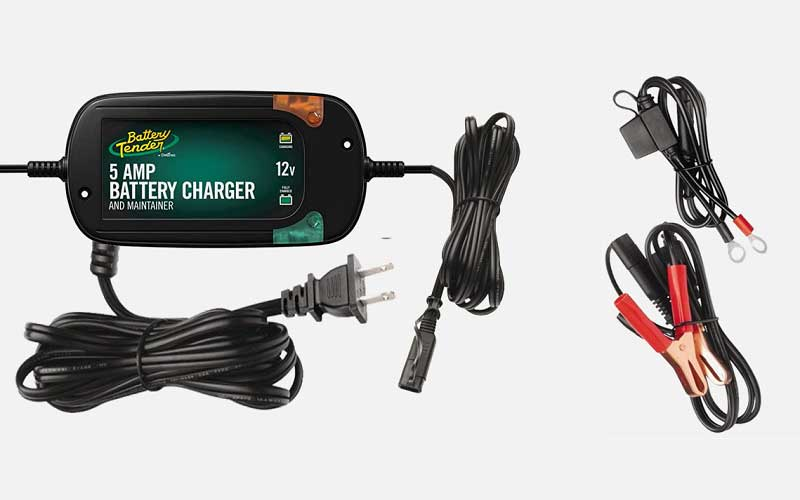 Battery Tender 5 Amp, 12V Battery Charger, Battery Maintainer review