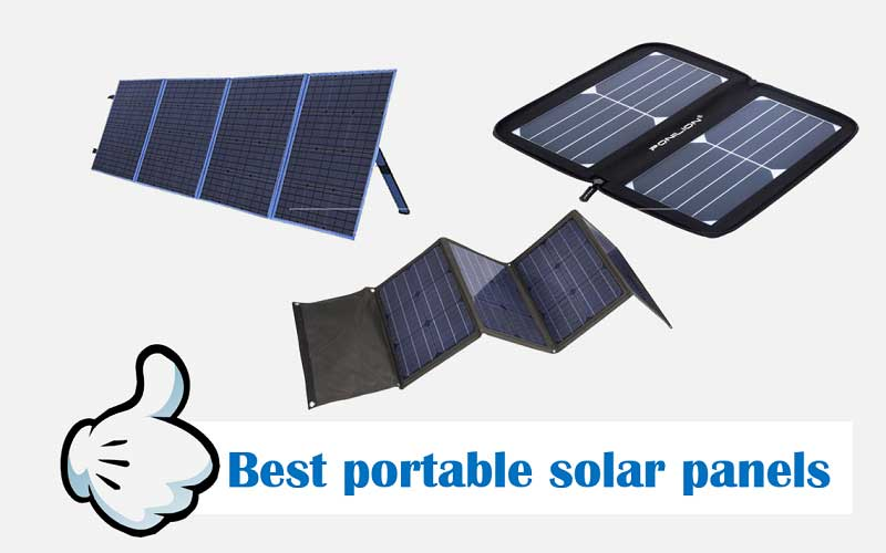 Best portable solar panels for RV - review