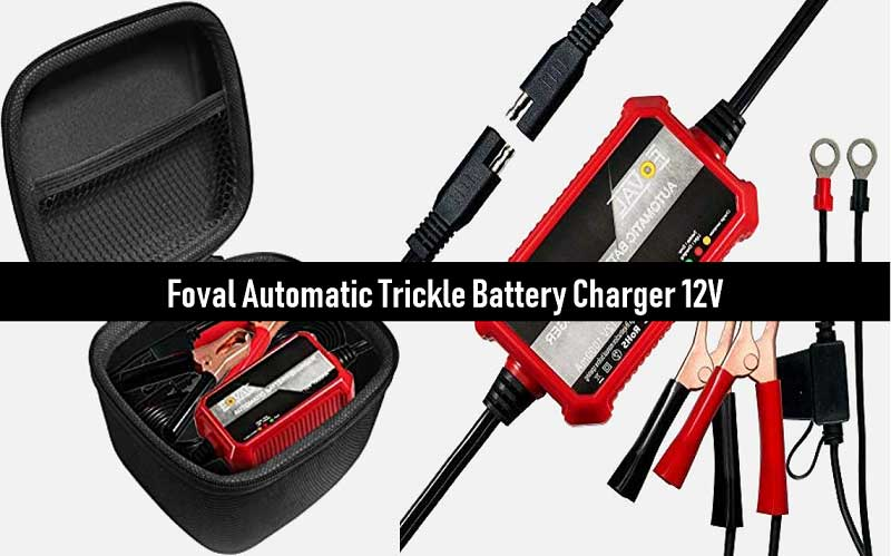 Foval Automatic Trickle Battery Charger 12V 1000mA Smart Battery Charger review