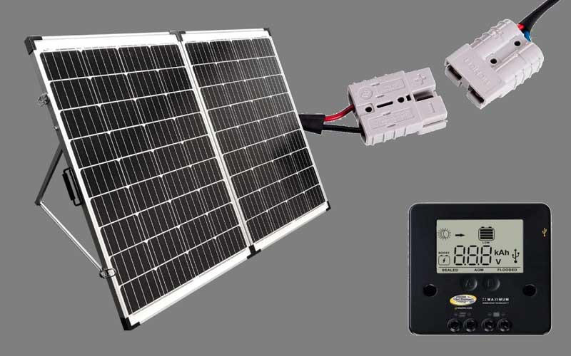 Go Power! GP-PSK-130 Portable Folding Solar Kit review