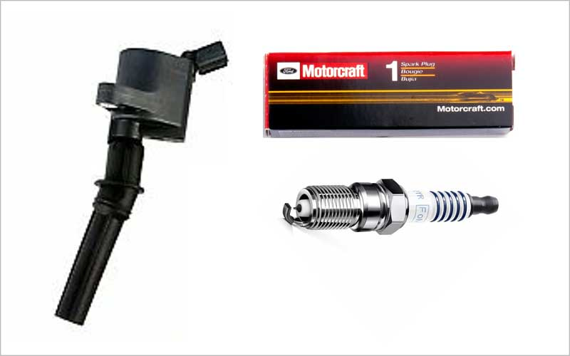 Ignition Coil and Motorcraft Spark Plug for Ford review