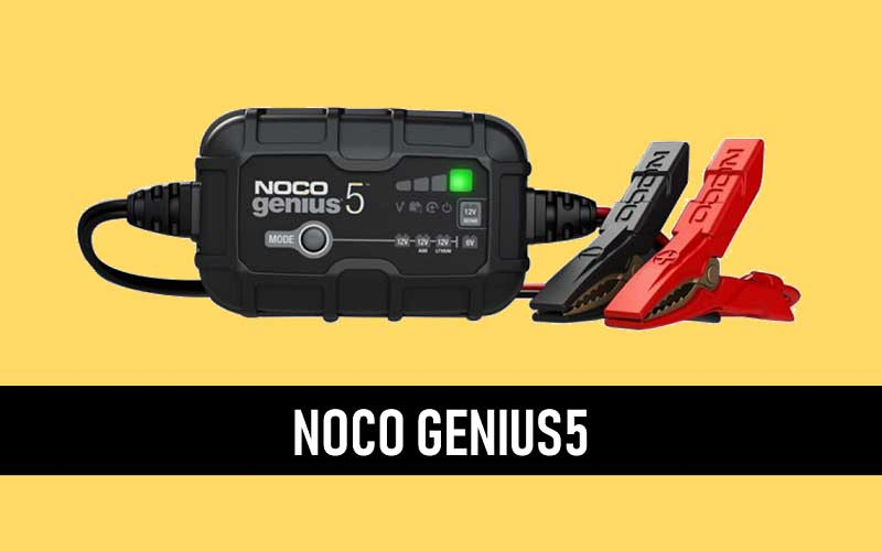 NOCO GENIUS5, 5-Amp Fully Automatic Smart Charger review